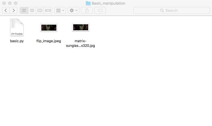 Сохраняем файл OpenCV